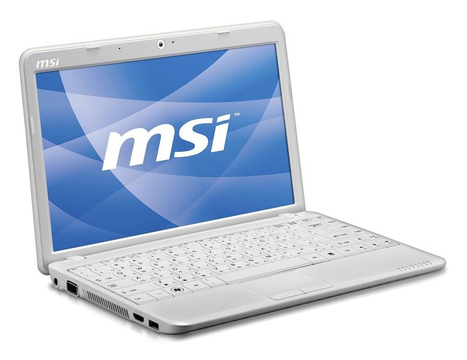 MSI Wind U210 netbook, an ultraportable computer