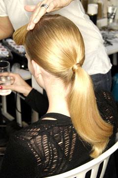 Secrets to Glossy Hair
