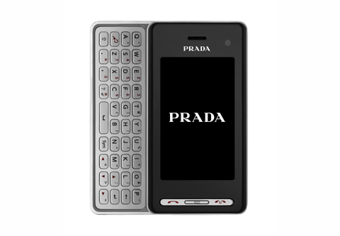 lg prada mobile phone second fashion design qwerty iphone g1 symbian