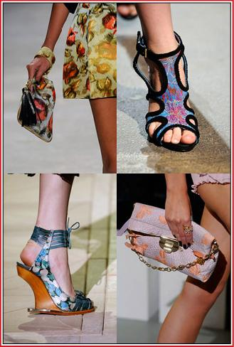 Spring 2010 Accessory Trends Floral Prints