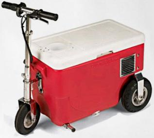 scooter cooler