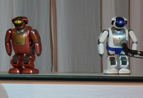 Fuji Soft humanoid robots