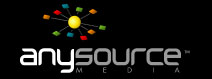 AnySource Media Logo