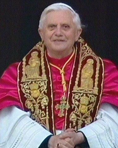 pope benedict vatican