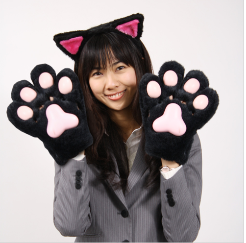 Thanko Hot Cat Gloves