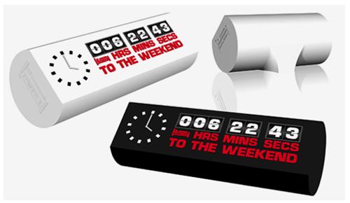weekend clock