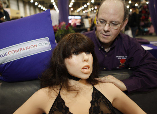 Roxxxy, the world's first sex robot