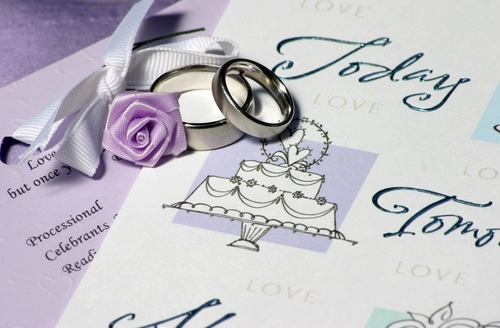 Things to Include in Your Wedding Program
