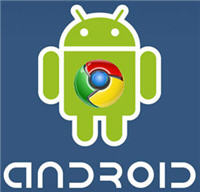 android chrome logos