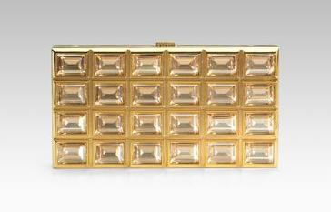 Judith Leiber Chocolate Bar clutch
