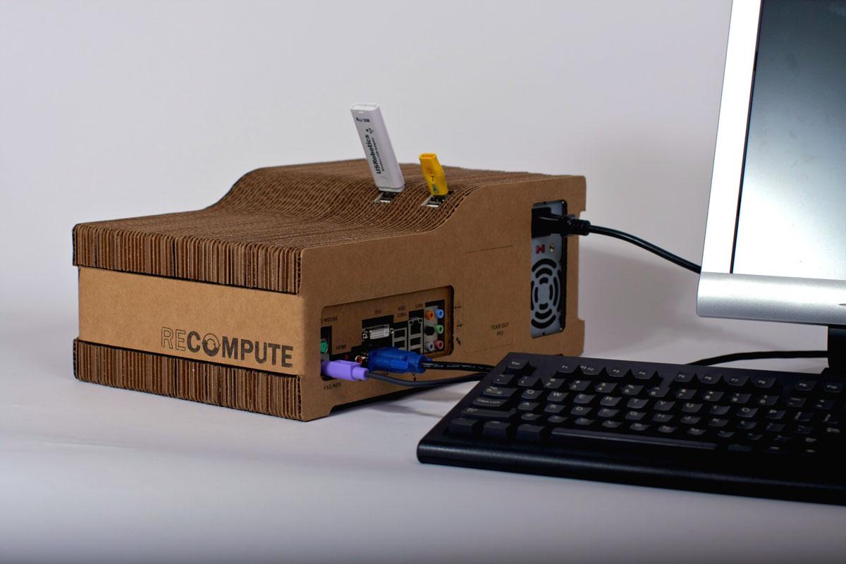 Как сделать свой компьютер из бумаги