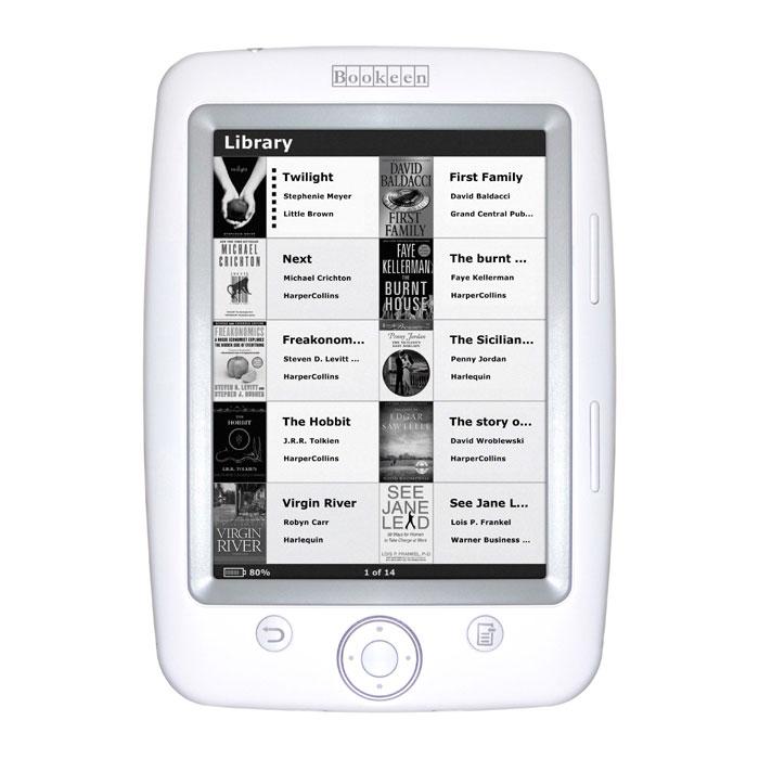 Bookeen Cybook Opus Ebook Reader