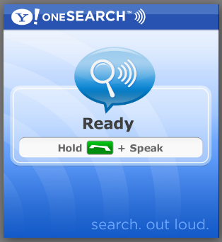 yahoo onesearch voice