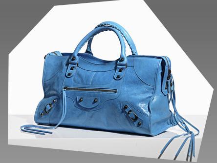 Balenciaga city leather bag