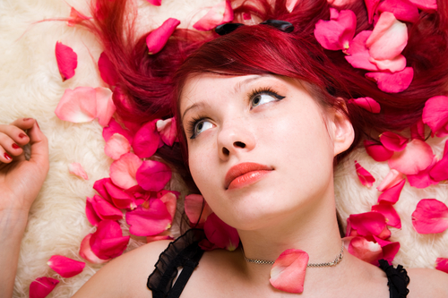 Makeup for redheads – Ideas, with girls hair bright red hair and most of the