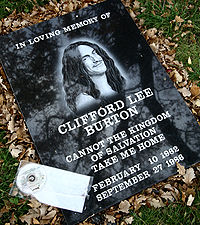 Death of Cliff Burton