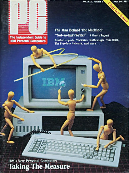 PC magazine first issue