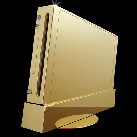 Nintendo Wii Supreme, a golden Nintendo Wii