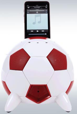 Speakal miSoccer iPod Dock