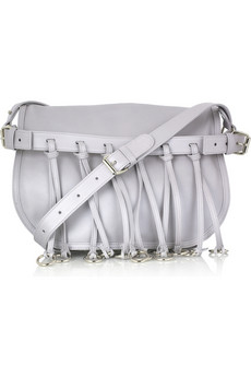 Balmain Original Leather Fringed Bag