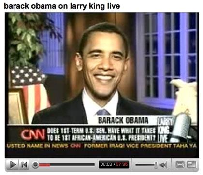 barack obama youtube