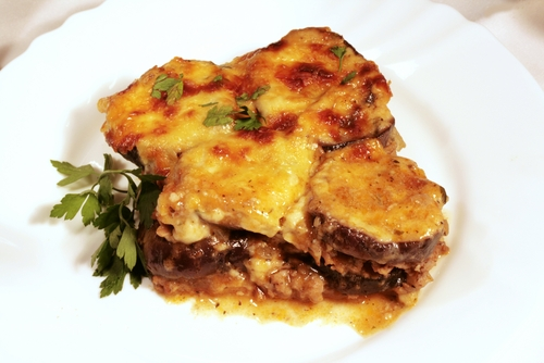 Greek cuisine  moussaka