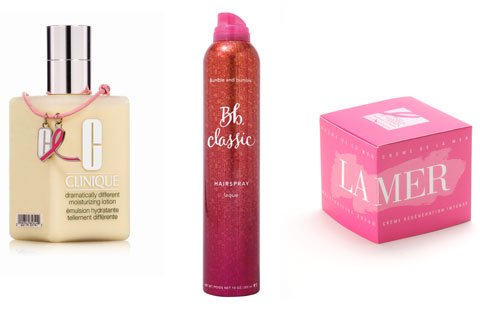 pink limited edition products for breast cancer research