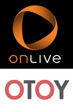 OnLive and OTOY Logos