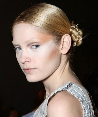 Hair Trends: Laced-Up Chignons