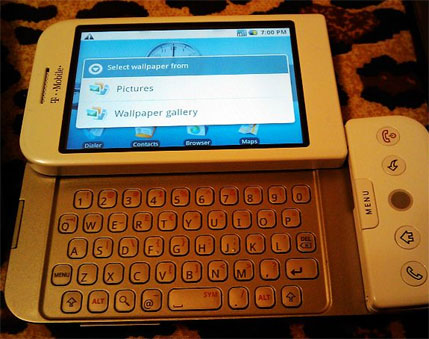 t-mobile g1 htc dream google android