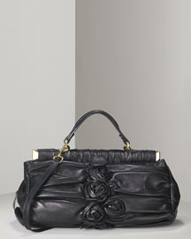 Valentino Jardin Rose Framed bag