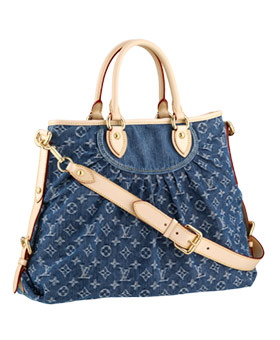 Louis Vuitton Monogram Denim Neo Cabby