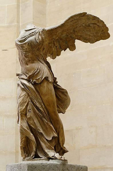 Winged Victory Of Samothrace Creative Suite