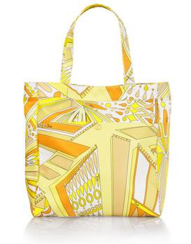 Emilio Pucci Sundial Canvas Beach Bag