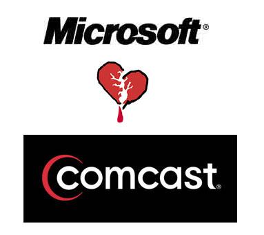 microsoft comcast heartbreak