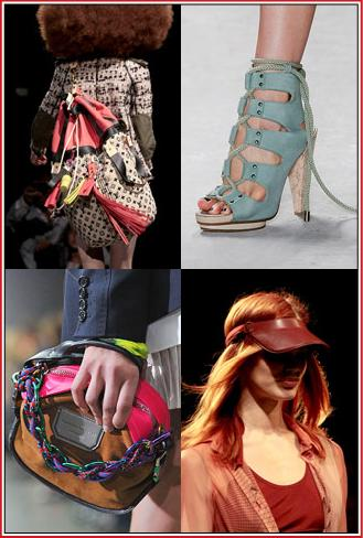 Spring 2010 Accessory Trends Urban Sporty
