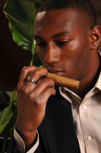 smelling cigars