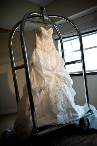 wedding dress care