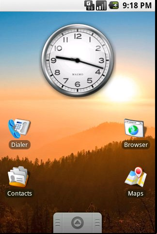 android home view