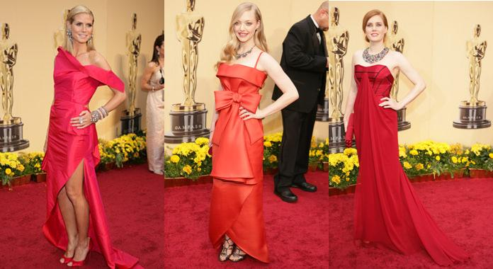 Red Dresses at 2009 oscars