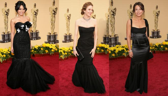 Black dresses Oscars
