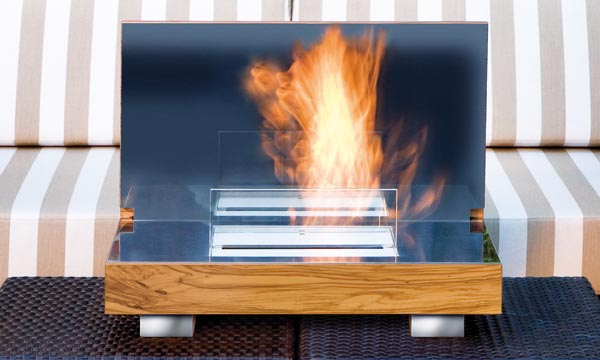 Schulte Design Introduces FIREBO-X: Portable Fireplace   q