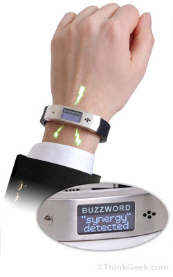 Buzzword Speech Recognition Wristband