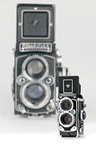 The Retro Rolleiflex MiniDigi Camera