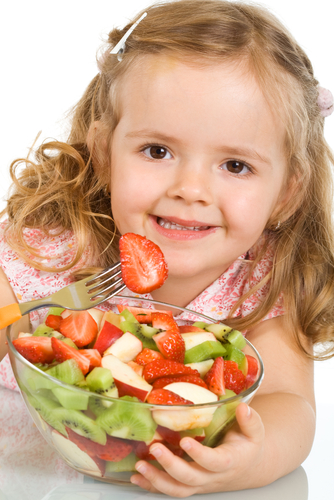 Developing healthy eating habits in kids