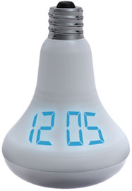 Watt Time Light bulb Clock