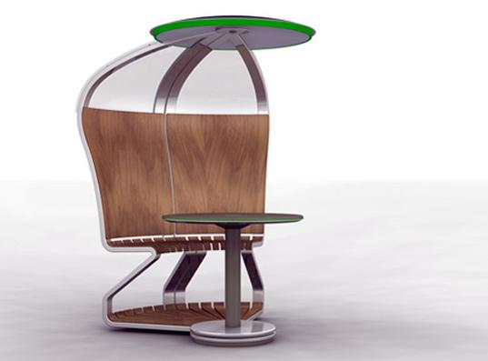 solar powered desk