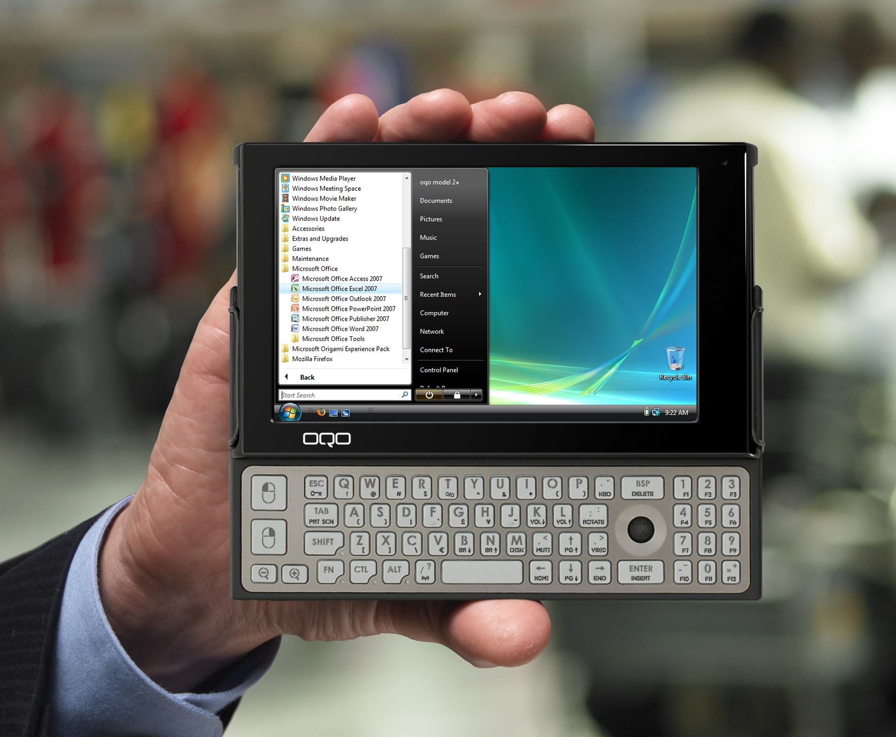 OQO Model 2 Mobile PC