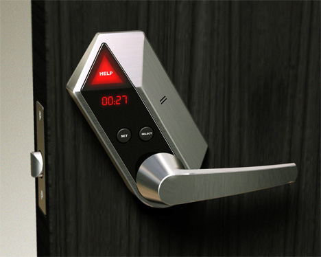 help lock doorknob