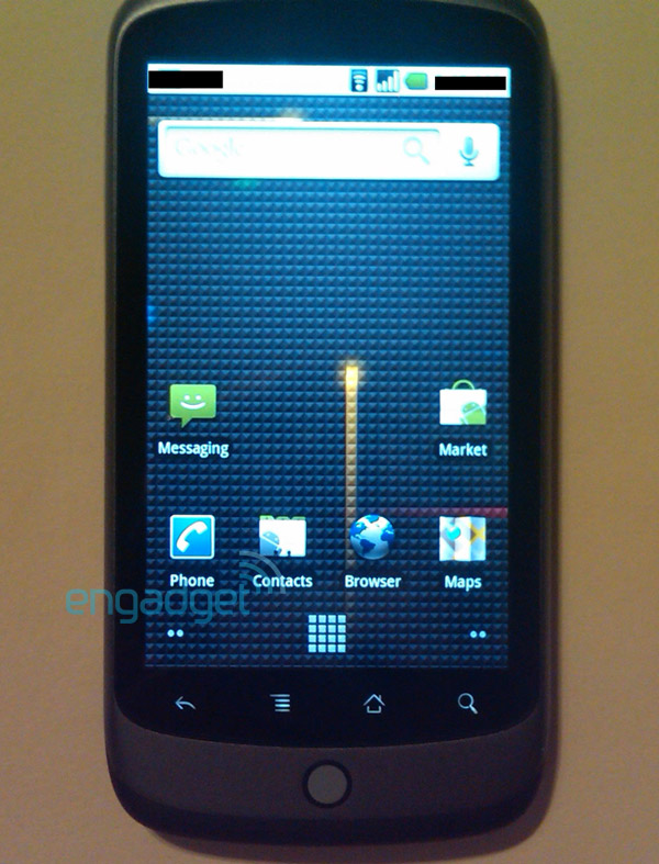 Nexus One, Google Phone